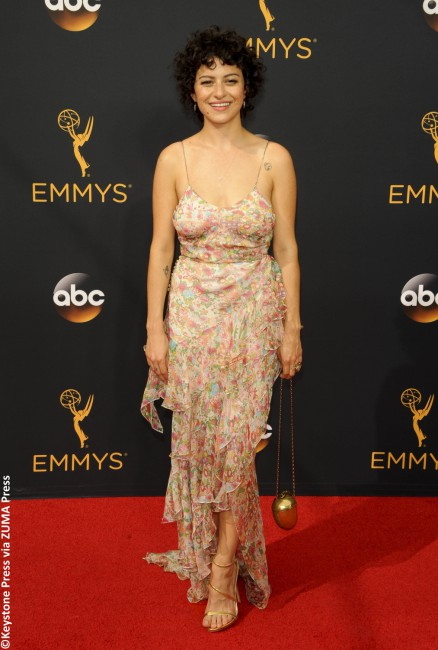 Who knew it was acceptable to wear a summery tablecloth to the Emmys? Well, it's not. Alia Shawkat just didn't get that memo. The Arrested Development actress' unflattering gown looked like something she pulled out of her pantry. Sure, it may have been comfortable, but what happened to the notion of structure? With oddly placed […]
