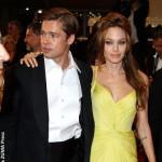 Angelina Jolie and Brad Pitt May 2007
