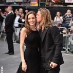 Angelina Jolie and Brad Pitt August 2014