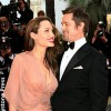 Angelina Jolie and Brad Pitt May 2009