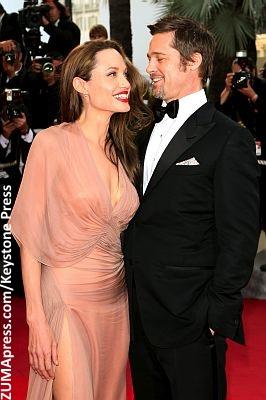 Angelina Jolie and Brad Pitt May 2009