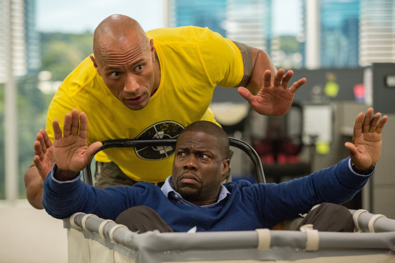 Central Intelligence incites the laughs - Blu-ray review