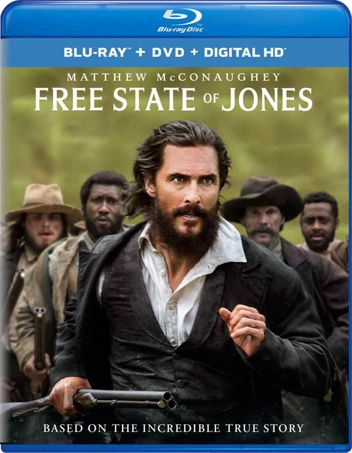 Free State of Jones on blu-ray