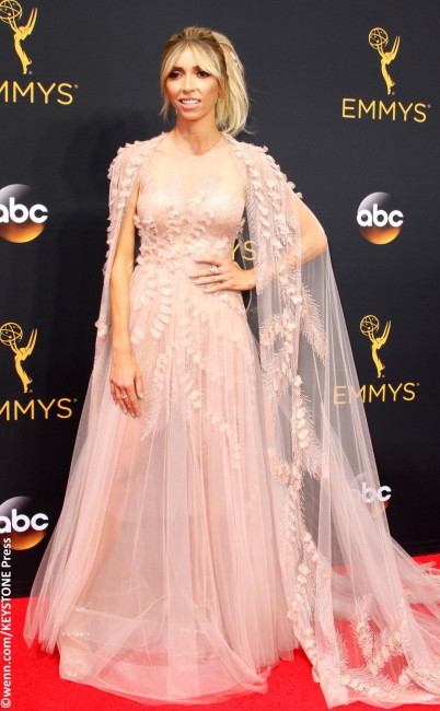 E! host, Fashion Police officer, and now … clothing designer? Giuliana Rancic bucked the couture norm and decided to rock her own playful design — an enchanting blush gown plucked right out of a Disney fairytale. Paired with a messy pony and basically no jewelry, the lovely beaded tulle number was made even more special […]
