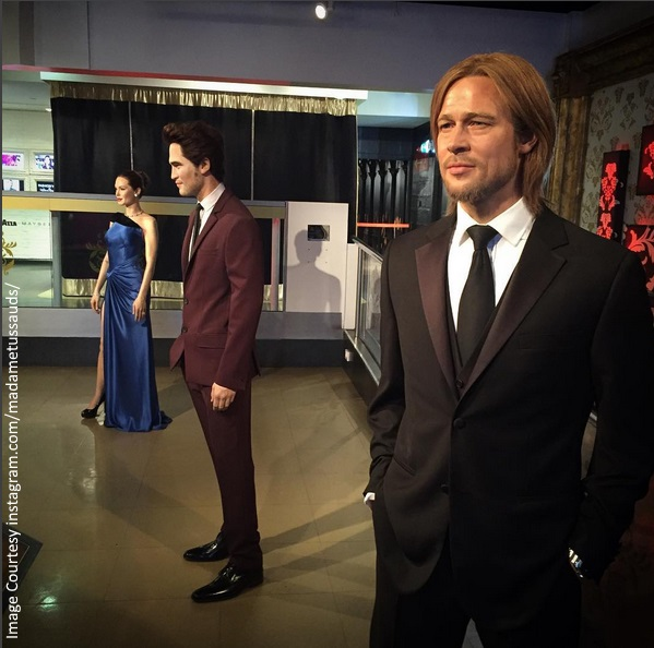 Angelina Jolie Brad Pitt Madame Tussauds