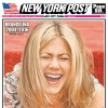 Outrage at Jennifer Aniston New York Post cover