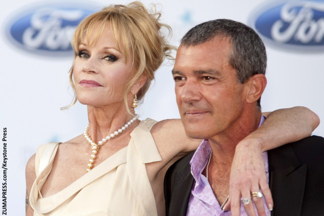 It was love at first sight for Melanie Griffith and Antonio Banderas on the set of their 1996 romantic comedy Two Much. However, both were actually married to different people at the time, and had to wait until their respective divorces were finalized before they could marry each other in May 1996. As their longstanding […]