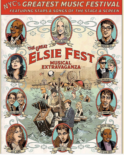 Stranger Things kids outshine performers at New York's Elsie Fest