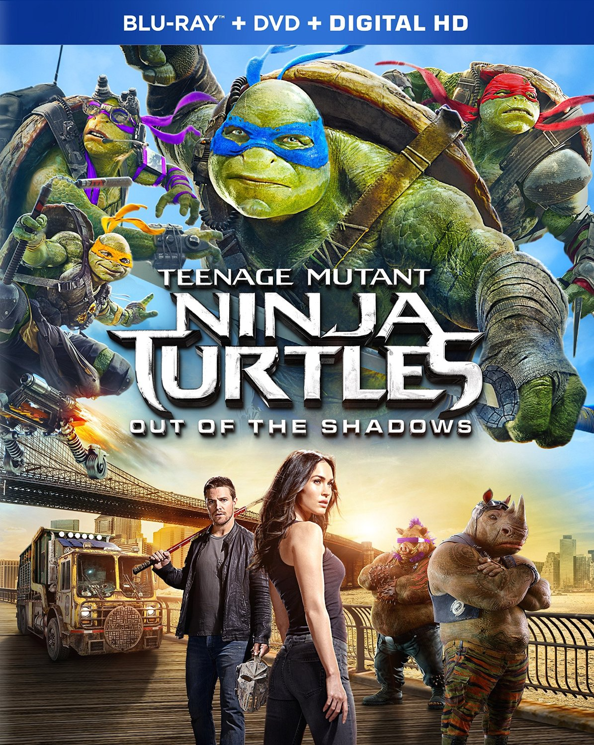Teenage Mutant Ninja Turtles: Out of the Shadows cover