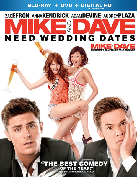 Mike and Dave Need Wedding Dates Blu-ray/DVD