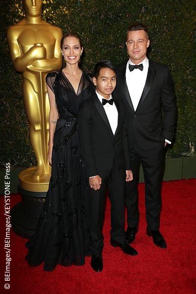 Angelina Jolie, Brad Pitt and Maddox