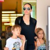 Angelina Jolie, Knox and Vivenne