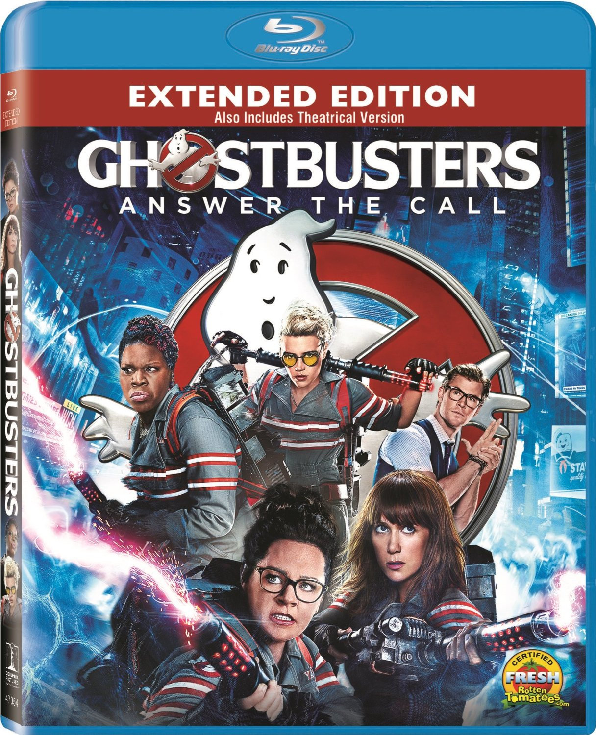 Ghostbuster Blu-ray cover