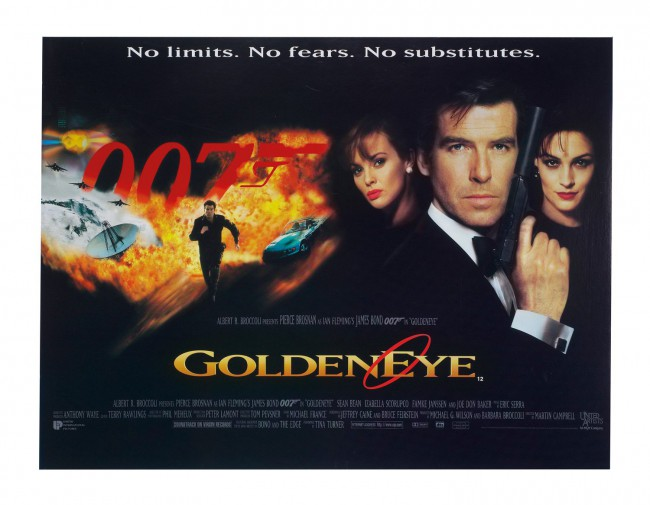 The deadliest James Bond film to date? Pierce Brosnan killed 47 people in 1995's GoldenEye.