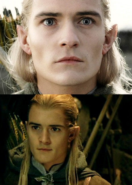 Orlando Bloom's character, Legolas' eyes were blue in the Hobbit films (The Hobbit: An Unexpected Journey, The Hobbit: The Desolation Of Smaug, The Hobbit: The Battle of the Five Armies) released in 2012, 2013 and 2014, respectively. But during the Lord of the Rings movies (The Fellowship of the Ring – 2001, The Two Towers […]