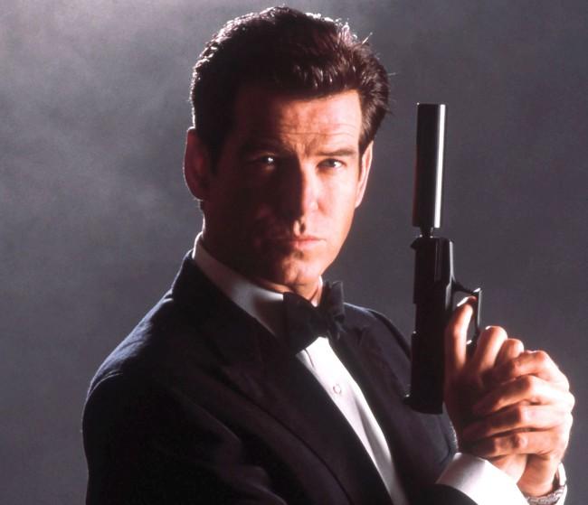 During his James Bond run, actor Pierce Brosnan was contractually forbidden from wearing a tuxedo in an non-Bond film.