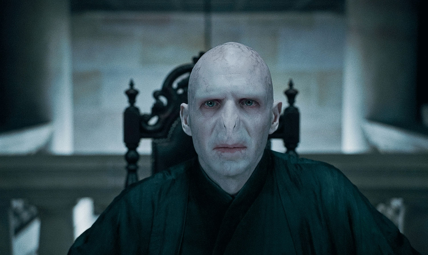 Lord Voldemort was played by five different actors ...