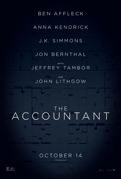 The Accountant is this week's top trailer