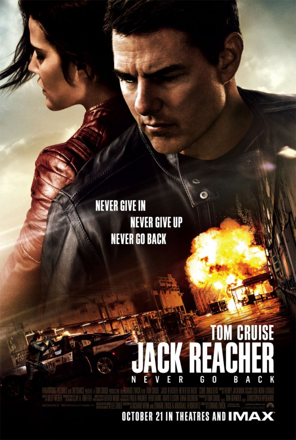 Jack Reacher Never Go Back poster