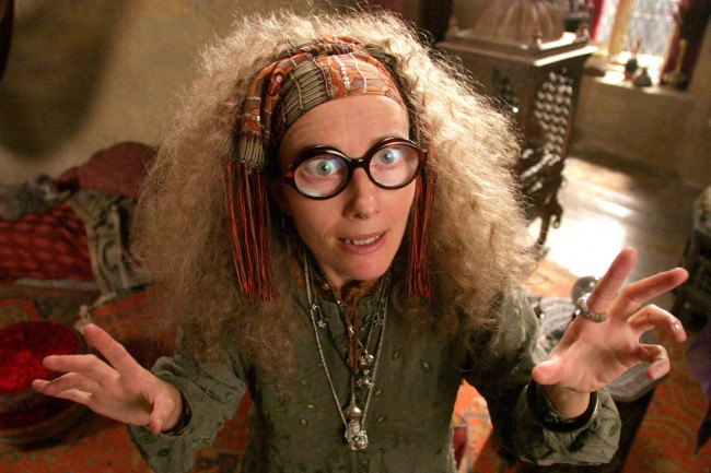 Oscar-winning actress Tilda Swinton was initially considered for the role of Divination-professor, Professor Trelawney, but unfortunately declined due to previous scheduling conflicts with the role eventually going to two-time Oscar-winning actress Emma Thompson.