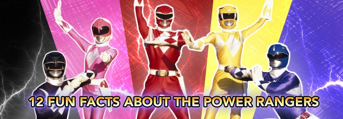 With the recent release of the teaser-trailer for the film reboot of iconic 90's TV phenomenon, Power Rangers, we decided to take a look back at the franchise's incredible history and explore 12 Fun Facts About the Mighty Morphin Power Rangers!