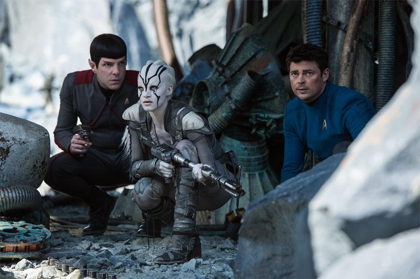 Spock, Jayella and Bones