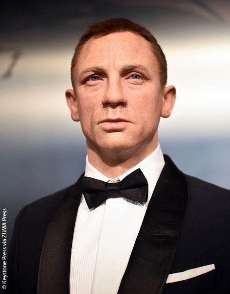 Daniel Craig wax figure in Berlin