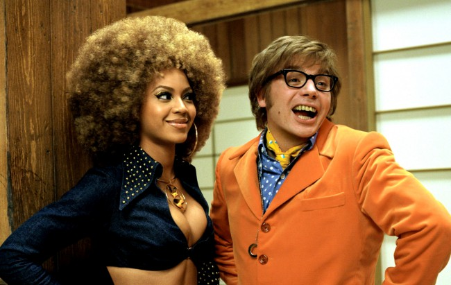 """I'm Foxxy Cleopatra, and I'm a whole 'lotta woman!"". Beyoncé took a break from releasing music to film the 3rd installment of the Austin Powers franchise, 2002's Goldmember. Teaming up with the mysterious yet peculiar Goldmember, Dr. Evil hatches a time-traveling scheme to take over the world, one that involves the kidnapping of Nigel Powers, […]"