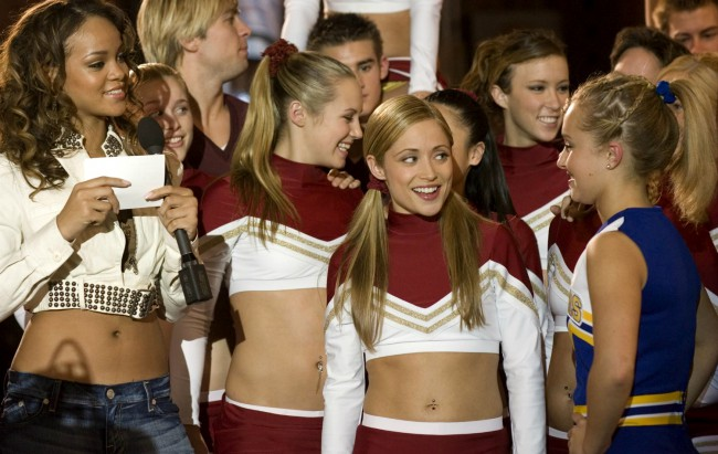 If you somehow missed 2006's sequel-spinoff-sequel to Bring It On, Bring it On – All Or Nothing, then you may have missed the blink-and-you'll-miss-it cameo from Robyn Fenty, a.k.a. Rihanna. The story follows prom queen shoo-in Britney Allen who has to drop out and transfer to her ritzy high school's underfunded crosstown rival. At her […]