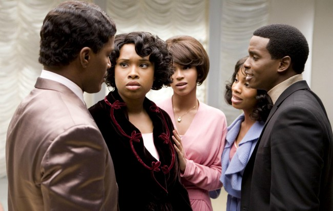 Following her spectacular turn on American Idol, Jennifer Hudson made the leap to (Oscar-winning) movies! Dreamgirls follows Deena (Beyoncé Knowles), Effie (Jennifer Hudson) and Lorrell (Anika Noni Rose) who form a music trio called the Dreamettes. When ambitious manager Curtis Taylor Jr. (Jamie Foxx) spots the act at a talent show, he offers the chance of […]