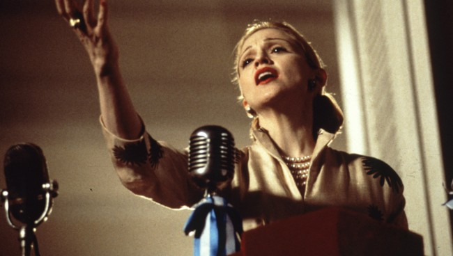 Is there anything Madonna can't do? After spending years releasing hit songs and hypnotizing the world with her attitude and dance moves, singer Madonna got back to her Hollywood roots, appearing as iconic political figurehead, Eva Perone. Eva Duarte Peron (Madonna) rises from poverty to become an Argentinian actress and the wife of powerful President Juan […]