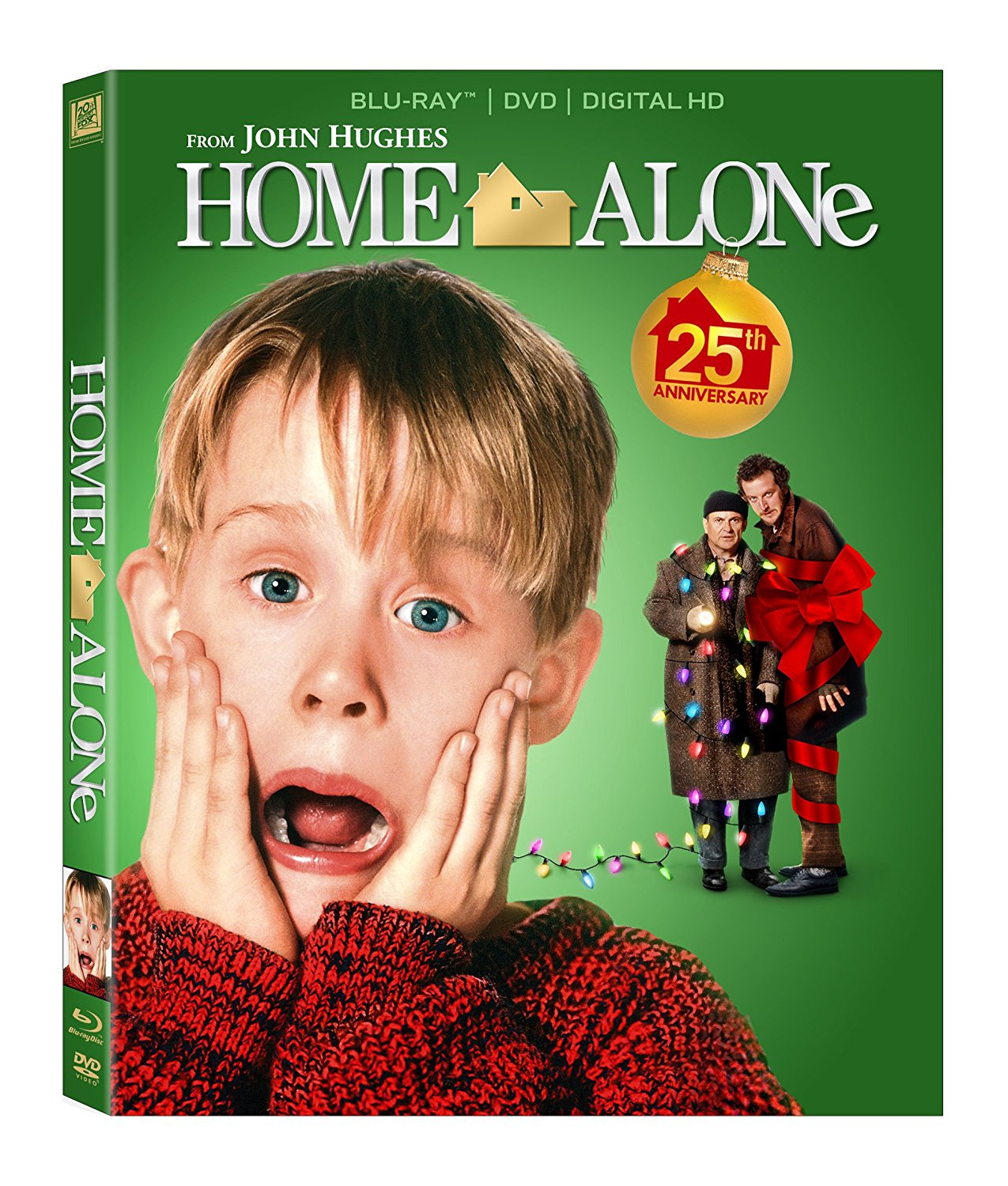 FOX Home Alone Blu-ray Box Art