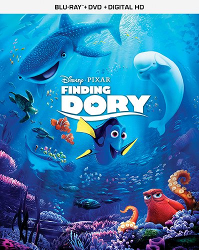 Finding Dory on Blu-Ray and DVD