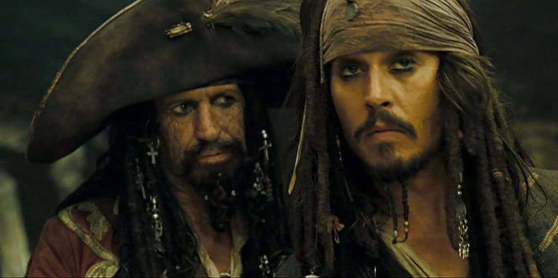 Keith Richards – Pirates of the Caribbean: At World's End