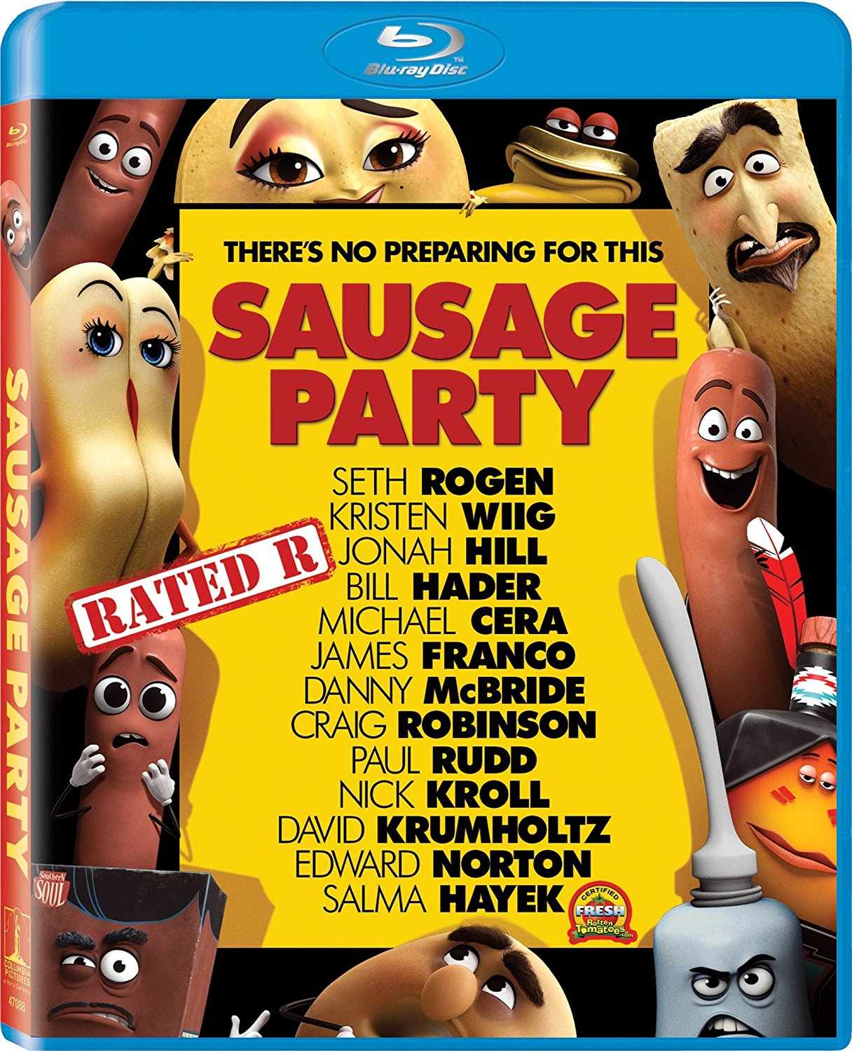 Sausage Party out on DVD and Blu-ray