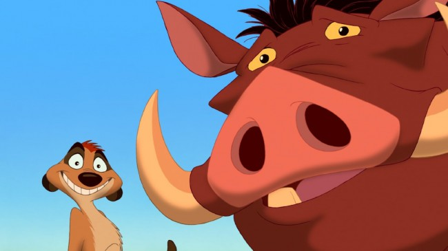 """Timon and Pumbaa are like milk and cereal, you just can't imagine one without the other. They are the loudmouth meerkat and the dopey warthog who raise young Simba in the jungle when he is displaced from his pride following the tragic murder of his father, Mufasa. With plenty of """"hakuna matatas"""" and various juicy […]"""