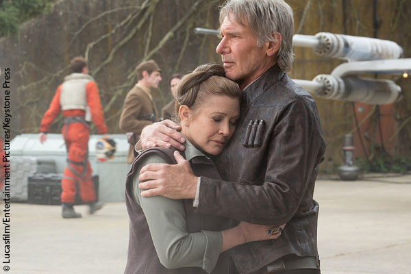 Carrie Fisher opens up about Harrison Ford affair