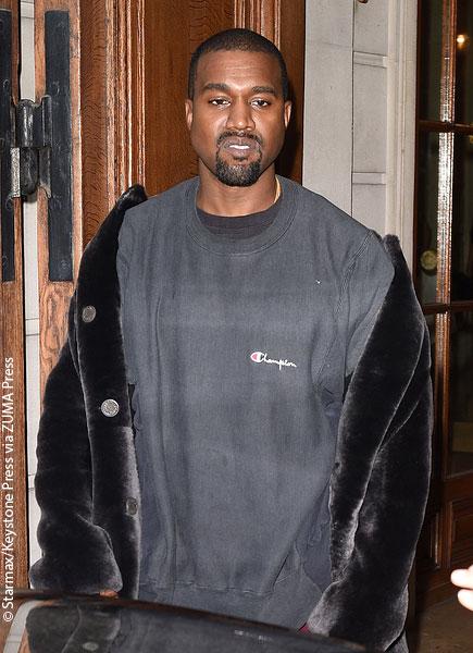 Kanye West hospitalized in California