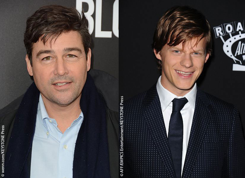 Kyle Chandler and Lucas Hedges