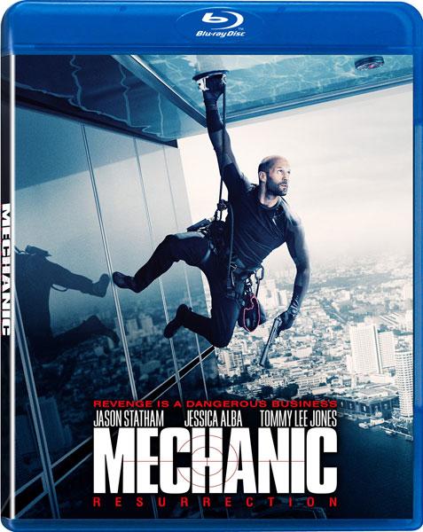 Mechanic: Resurrection on Blu-ray