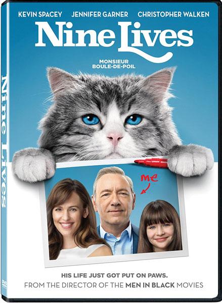 Nine Lives on DVD