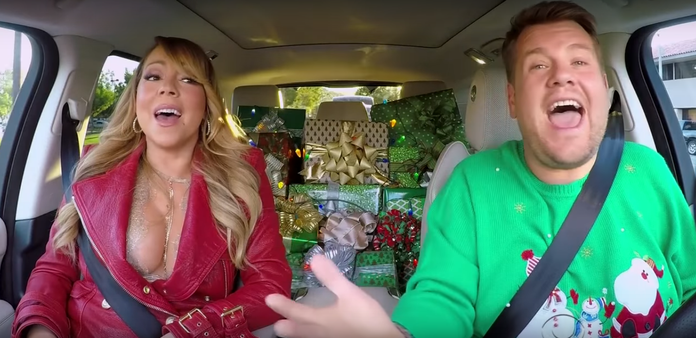 James Corden, Mariah Carey do Carpool Karaoke