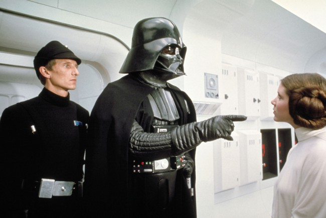 In A New Hope, Darth Vader demanded that Princess Leia tell him what happened to the plans that were beamed to her from Rebel spies. She denies knowing anything, saying she's a member of Imperial Senate on a diplomatic mission. He replies she's part of the Rebel Alliance and a traitor and orders her to […]