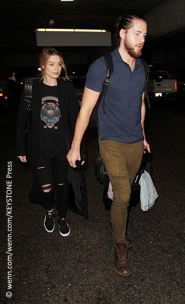 Margot Robbie and Tom Ackerley