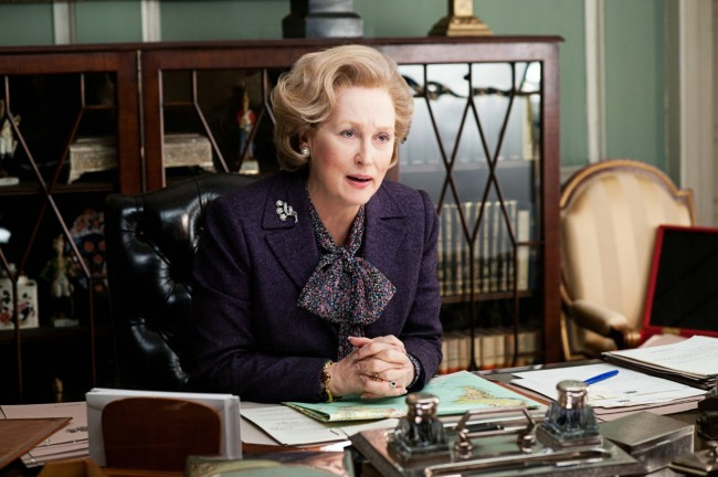 Marvelous Meryl Streep won her third Oscar in 2012 for portraying pioneer and former British Prime Minister Margaret Thatcher in The Iron Lady. Pegged by many as the greatest living actress, Meryl breathed humility and fragility into Thatcher, who led the U.K. from 1979-1990 and was known for her hard-nosed, controversial opinions and conservative ideals.