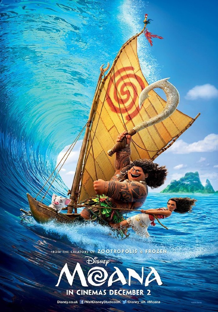 Moana wins for second time at weekend box office