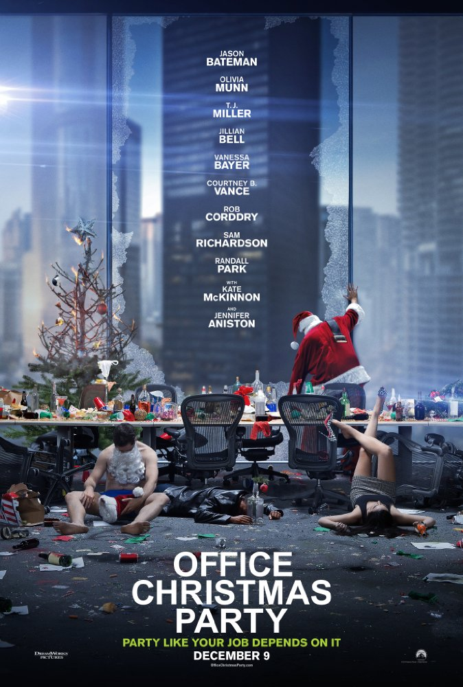 Office Christmas Party opens in theaters