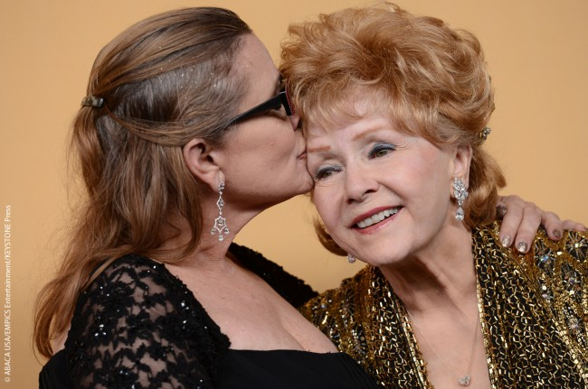 Debbie and Carrie pose in the press room at the 21st Annual Screen Actors Guild Awards at The Shrine Auditorium in Los Angeles on January 25, 2015. Debbie was there to pick up a Lifetime Achievement Award. In 2016 she was given the Jean Hersholt Humanitarian Award for her charity work by the Academy of […]
