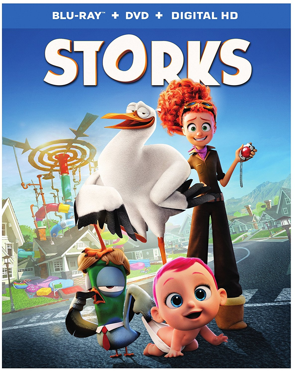 Storks A Wacky Adventure About Babies And Birds Blu Ray Review Celebrity Gossip Movie News