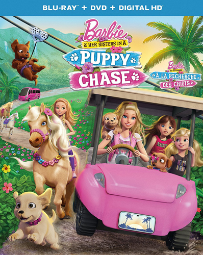 Barbie & Her Sisters in a Puppy Chase [Blu-ray + DVD + Digital HD]